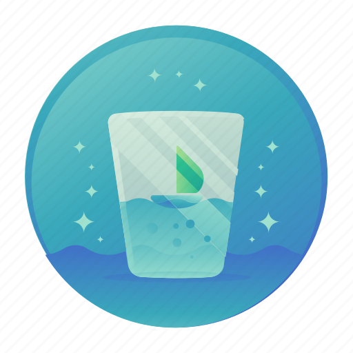 cleanse, cup, diet, dihydrate, water icon