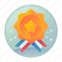 award, badge, fitness, sports
