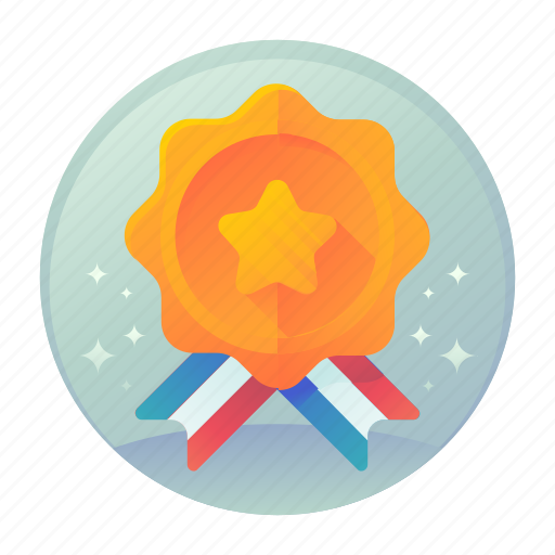 award, badge, fitness, sports icon