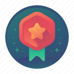 award, badge, bronze, star, win, winner icon