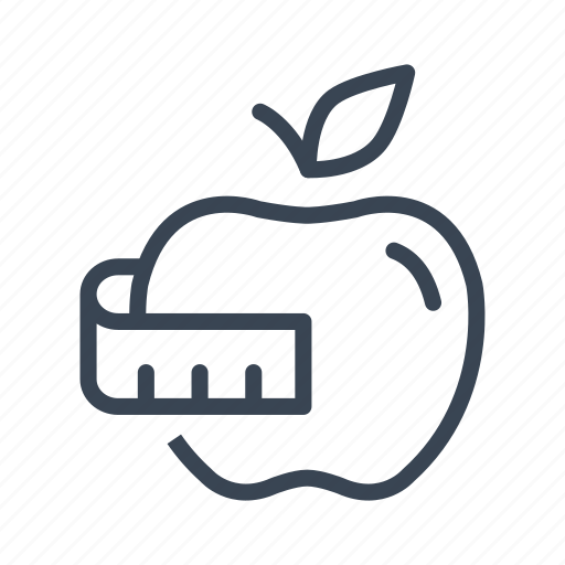 Apple, diet, fitness, fruit, healthy icon - Download on Iconfinder
