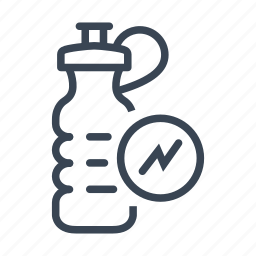 bottle, drink, energy, water icon