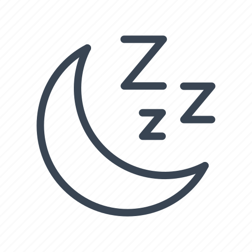 rest, sleep, sleeping icon