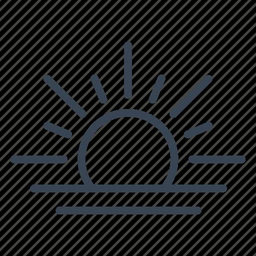 Sun, sunrise, sunset icon - Download on Iconfinder