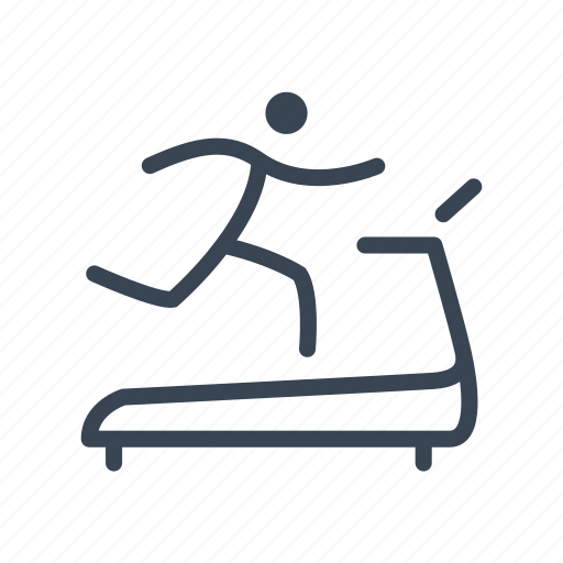 Fitness, running, sport, treadmill icon - Download on Iconfinder