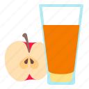 apple, drink, fitness, fruit, juice icon