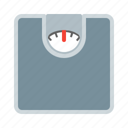 body, floor, scales, weight icon