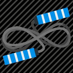 gym, jump, rope, sport, training icon