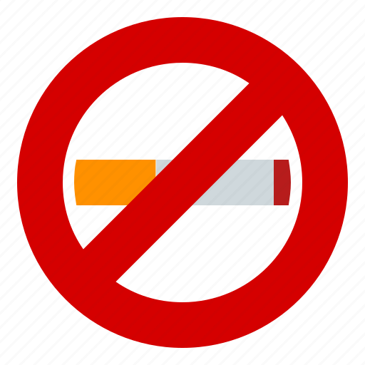 health, sign, smoking, warning icon