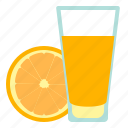 orange, food, fruit, juice