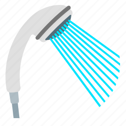 care, recovery, showerhead, water icon