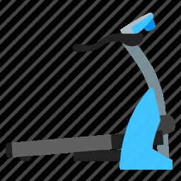 running, sports, training, treadmill icon