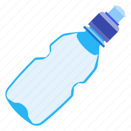 bottle, drink, fitness, water icon