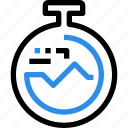 fitness, gym, management, report, time, timer icon