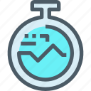 cardio, gym, health, time, timer icon