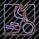 elliptical, exercise, fitness, machine icon