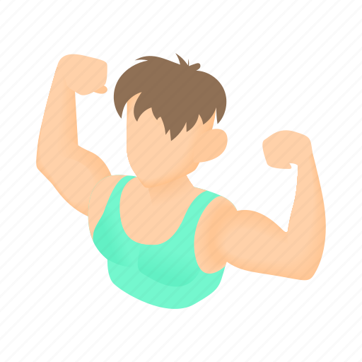 Fitness - Cartoon 2\' by Ivan Ryabokon