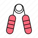 finger, fitness, grip icon