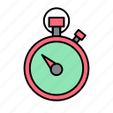 speed, stopwatch, time icon