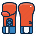boxing, equipment, fitness, gloves, gym, sport, workout icon