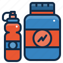 equipment, fitness, gym, protein, sport, whey, workout icon