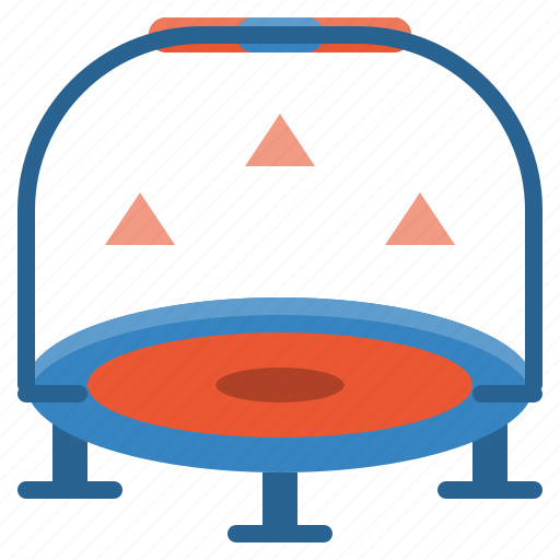equipment, exercise, fitness, gym, sport, trampoline, workout icon