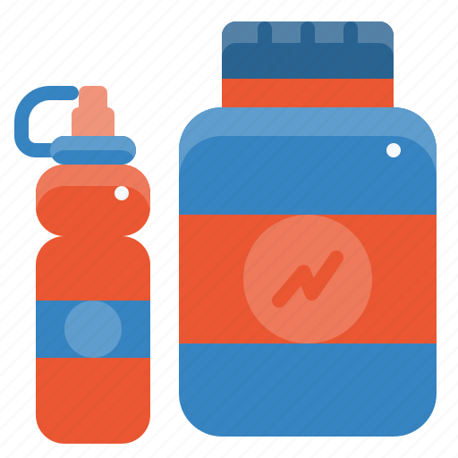fitness, gym, protein, shaker, sport, whey, workout icon