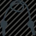athlete rope, jump rope, jumping string, skipping, skipping rope