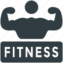 fitness club, gym signboard, gymnasium, health club, signboard icon