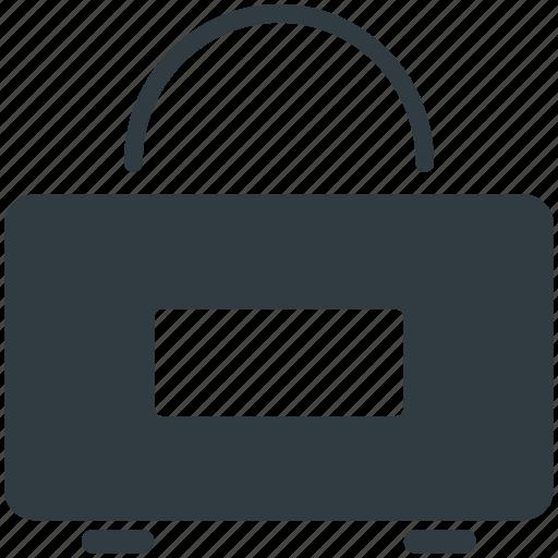 Duffle bag, gym bag, gym sack, gym tote, sports bag icon - Download on Iconfinder