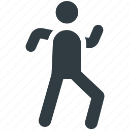 jogger, man running, racer, runner, sportsman icon