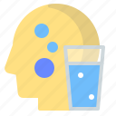 drink, glass, hydrate, sport, water icon