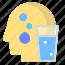 drink, glass, hydrate, sport, water