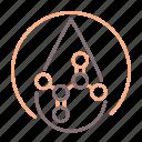 lactic, chemistry, drop, acid icon