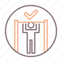 exercise, fitness, pull, ups icon