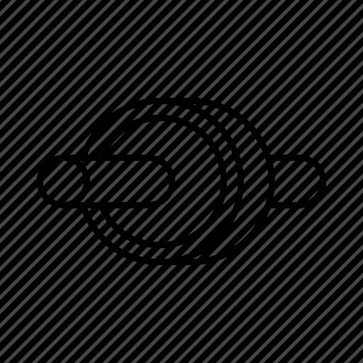 core, fitness, gym, wheel icon