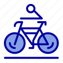 activity, bicycle, bike, biking, cycling icon