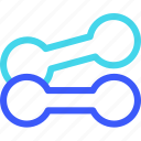 25px, dumbell, iconspace icon