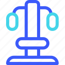 25px, iconspace, machine, press, shoulder icon
