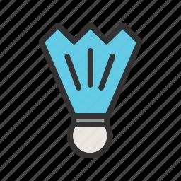badminton, fun, professional, racket, shuttle, shuttlecock, sport icon