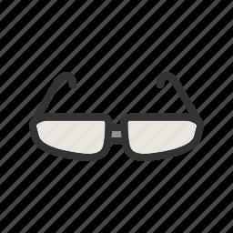 eye, fashion, glasses, lens, optical, style, vision icon
