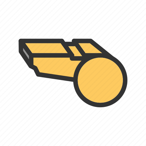 Coach, game, referee, sound, tool, whistle, whistles icon - Download on Iconfinder