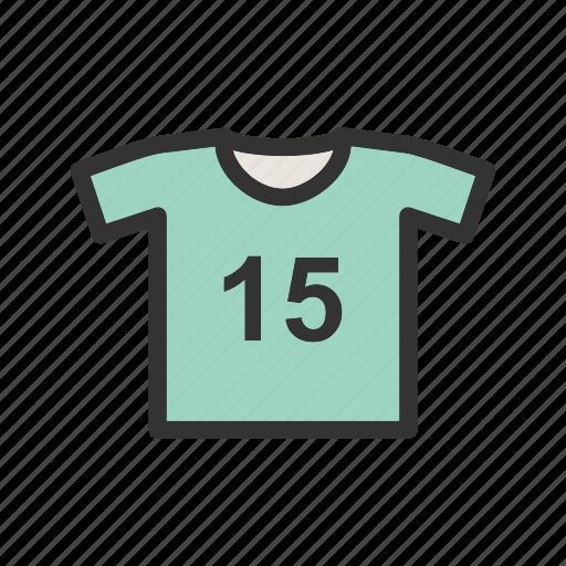 apparel, fashion, shirt, sport, sports, sportswear icon