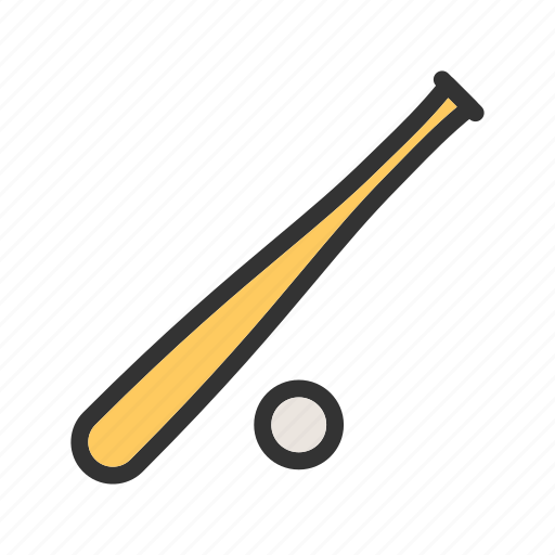 ball, baseball, bat, competition, player, sport, team icon