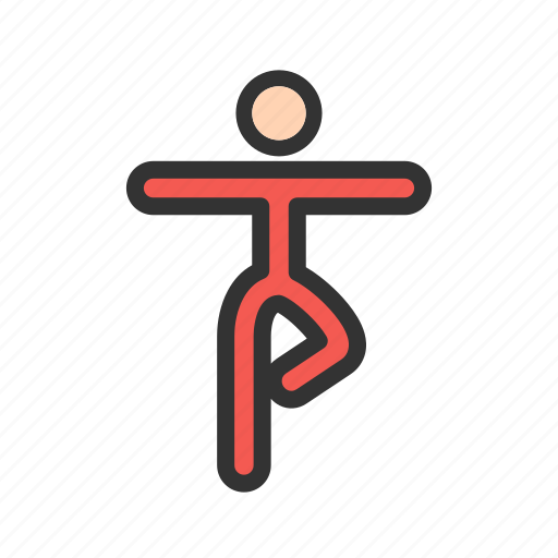 Exercise, health, lifestyle, pose, relaxation, slim, yoga icon - Download on Iconfinder
