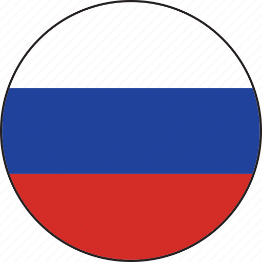Image result for russia circle flag