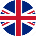 circle, country, emblem, england, flag, national icon