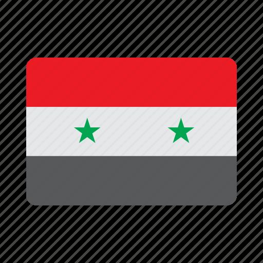 Flag, syria icon - Download on Iconfinder on Iconfinder