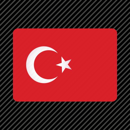 Flag, turkey icon - Download on Iconfinder on Iconfinder