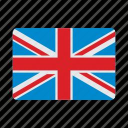 flag, kingdom, united icon